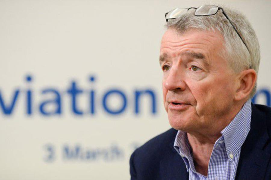 Глава Ryanair высказался против запрета на использование воздушного пространства Беларуси