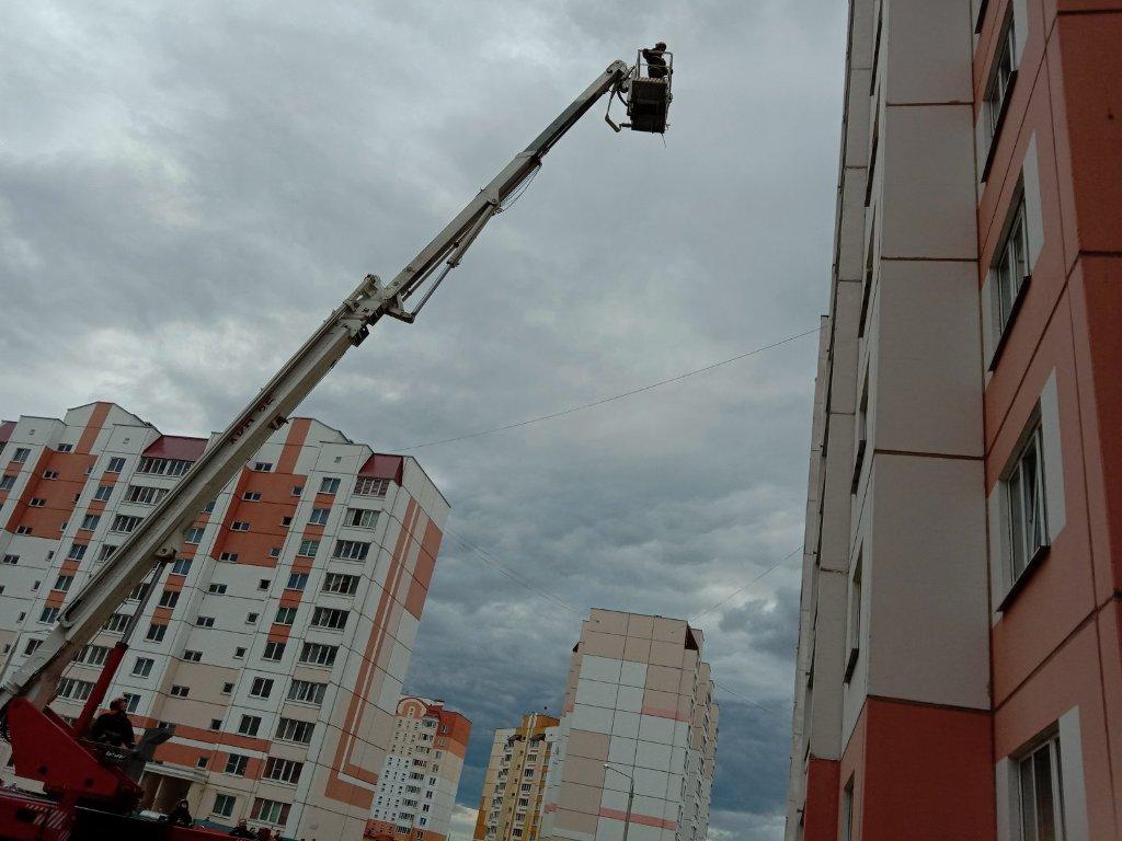 По человеческой беспечности мог произойти пожар в многоквартирном доме в Речице