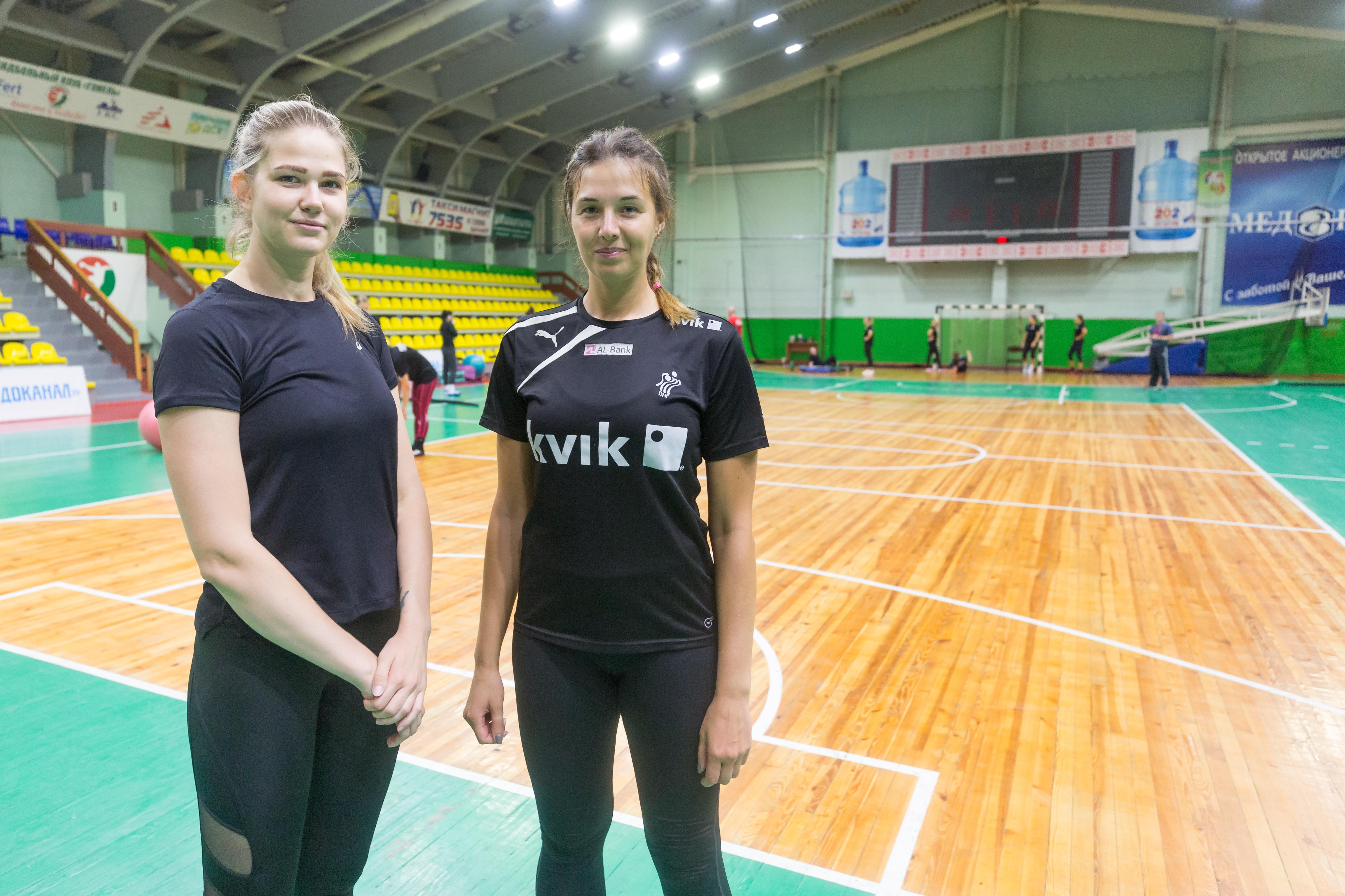Женская команда гандбольного клуба «Гомель» пополнилась двумя новыми игроками