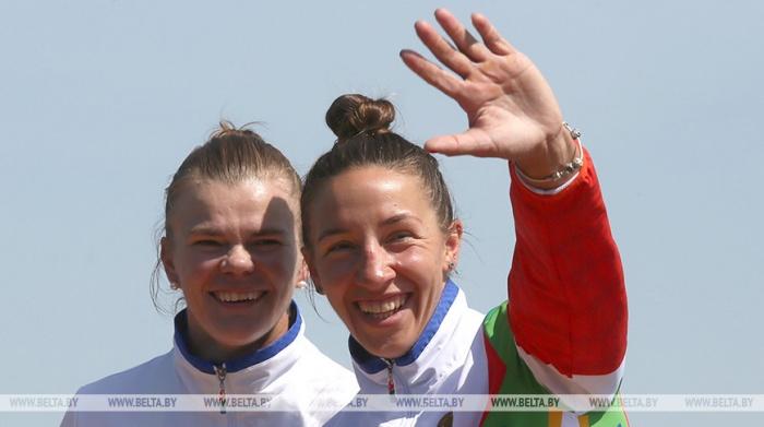 Литвинчук и Худенко вышли в полуфинал олимпийской регаты в гонках байдарок-двоек на дистанции 500 м