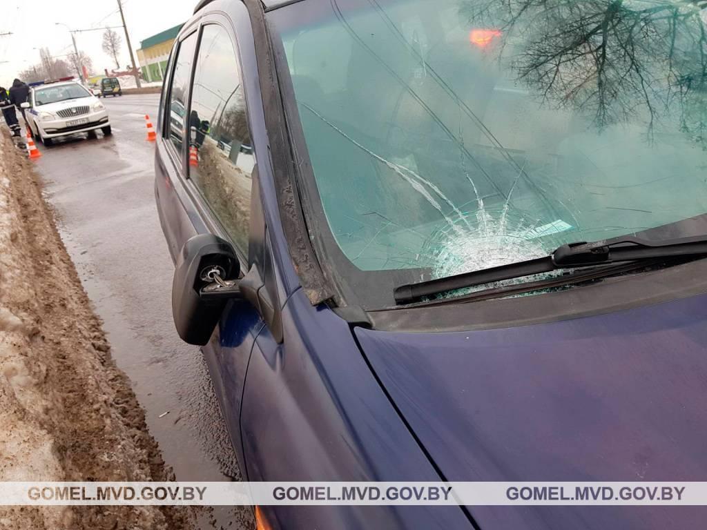 В Гомеле ищут очевидцев аварии, которая произошла 22 февраля на улице Барыкина