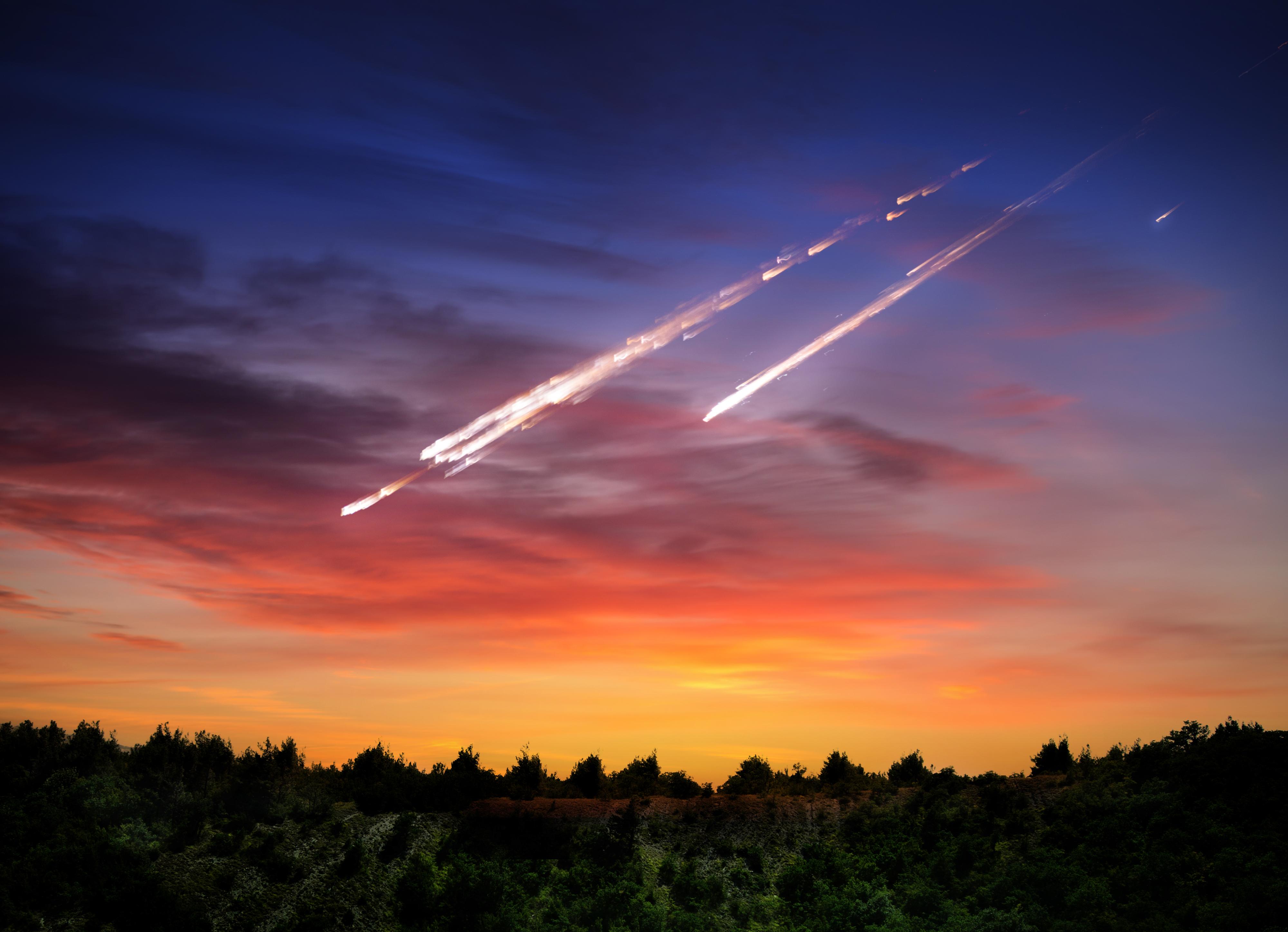 метеориты падающие на землю фото пребывание этом