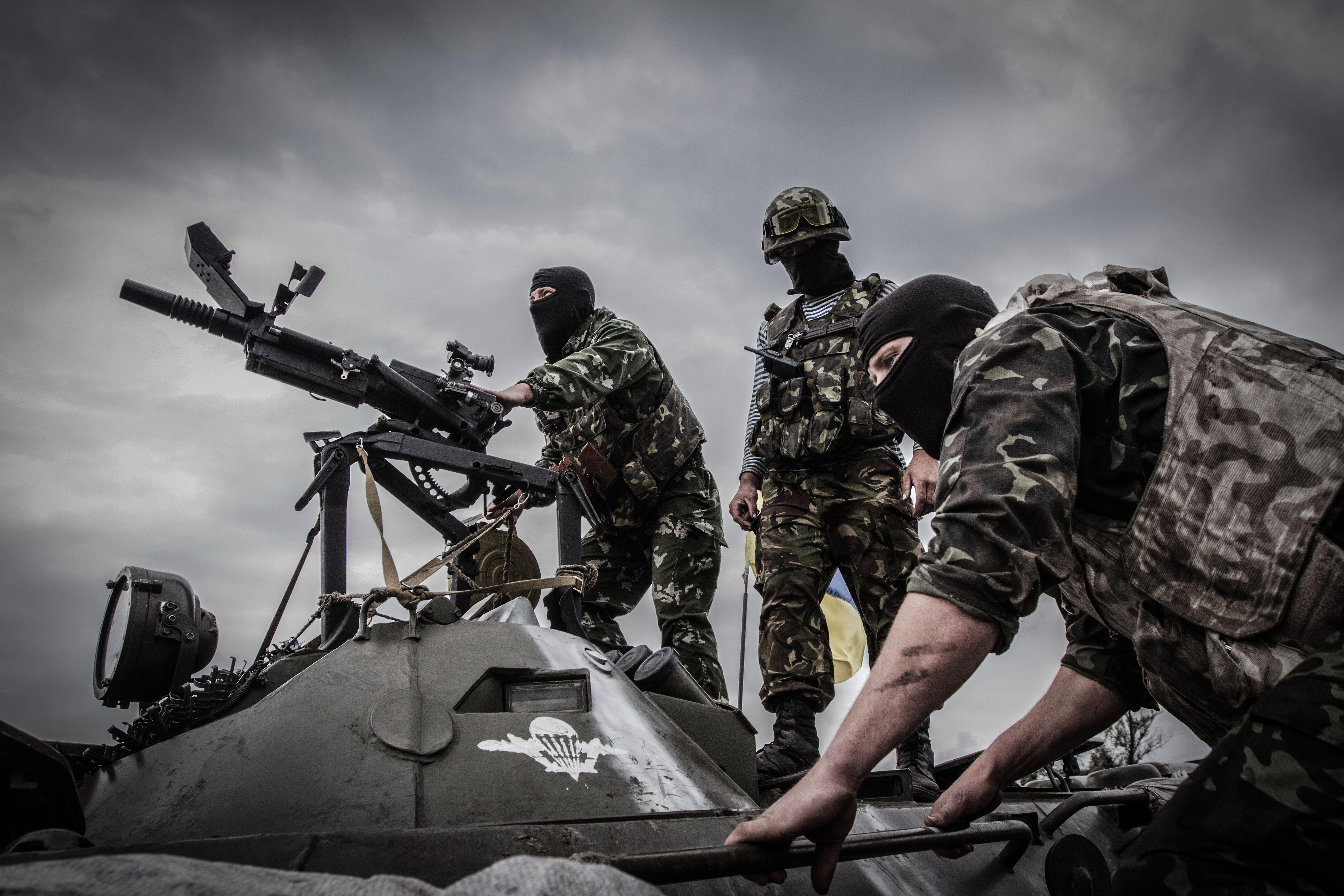 фото боев в украине зависимости ширины